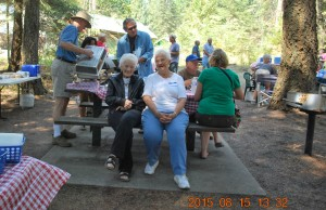 2015-08-15 Alice Hoffman & Louise Dyekman at annual picnic